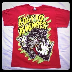 A Day To Remember Werewolf T-Shirt Size Med - YL